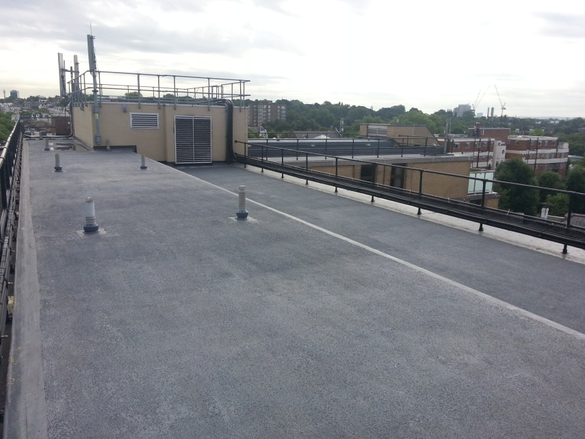 Kensington Hilton roof renewal.