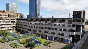 London housing estate, report on cyclical decorations and concrete repairs.