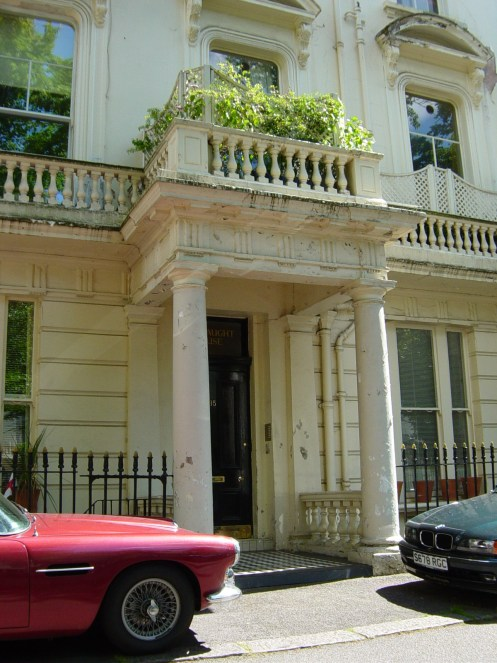 Private Residential Client, Central London – extensive external repair and redecoration.